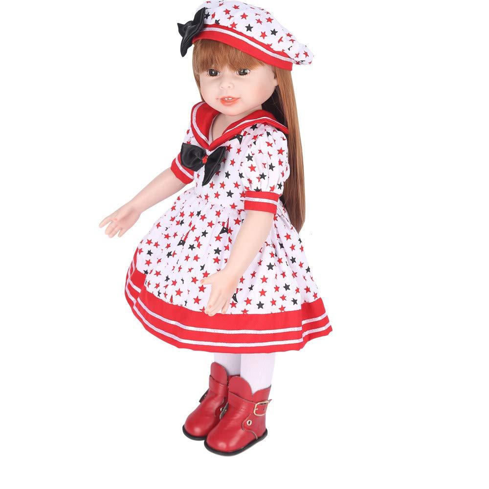 Amazon.com: Lucoo - Muñeca bebé dulce para niña, Muñeca viva ...