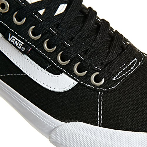 Canvas Pro Noir Chaussures Canvas Black 2 White Vans Chima Blanc TBnUqWEI