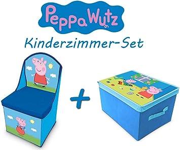 Peppa Pig habitación de los Niños de Juego (– Sillón Infantil con ...