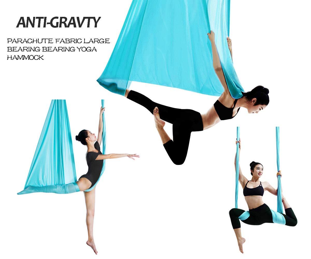 SYCYKA Hamaca de Yoga de 5 m de Largo x 2,8 m de Ancho con ...