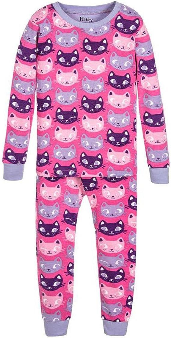 Hatley DR5CACA, Pijama de una Pieza. Algodón Orgánico. Color 213-Rosa, Talla 6-9: Amazon.es: Ropa y accesorios