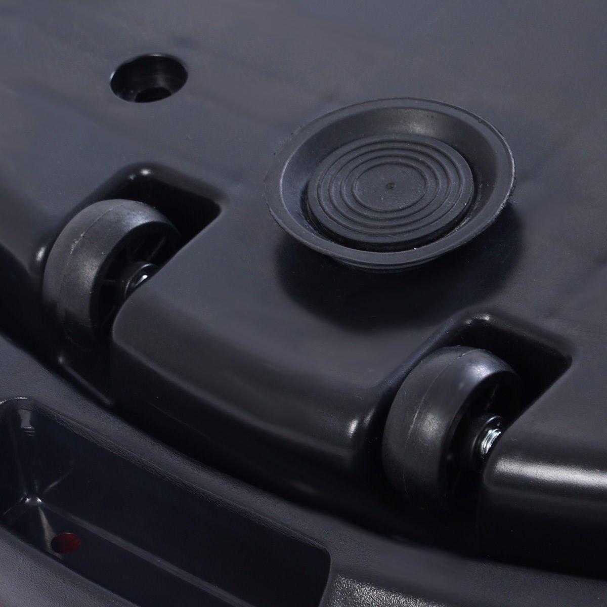 Tangkula Ultrathin Mini Crazy Fit Vibration Platform Massage Machine Fitness Gym (Black) by Tangkula (Image #10)