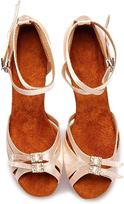 SWDZM Mujer Zapatos de BaileLatinBallroom modelo LP218