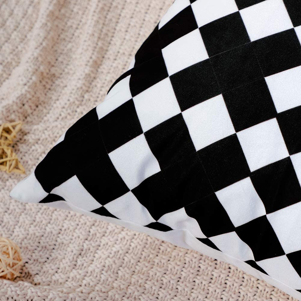 6 Pezzi Artscope Federe per Cuscini Divano Cotone Biancheria Gettare Copricuscino Decorativo Caso Federa Cuscino Divano Auto Home Decor 45 x 45 cm Fiore