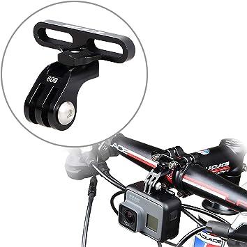 Soporte de cámara de acción Compatible con GoPro para manillares de Bicicleta: Amazon.es: Deportes y aire libre