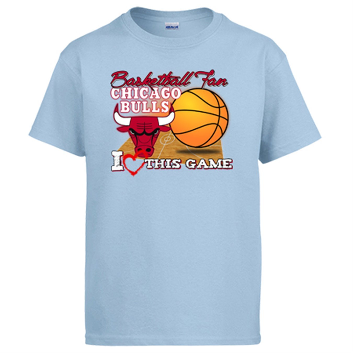 Camiseta NBA Chicago Bulls Baloncesto Basketball Fan I Love This Game: Amazon.es: Ropa y accesorios