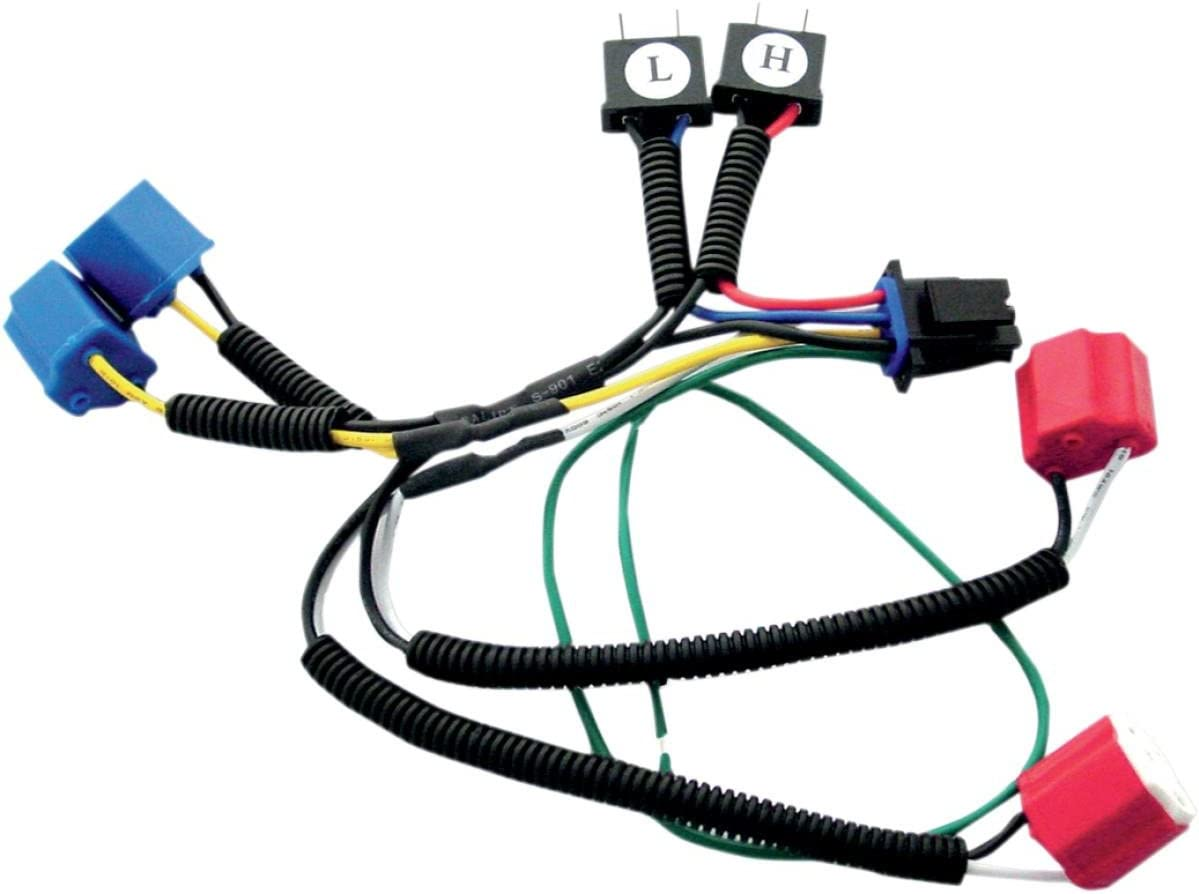 Signal Dynamics Single H4 Wiring Harness Kit for Plug-and-Play Diamond Star Headlight Modulator 01083