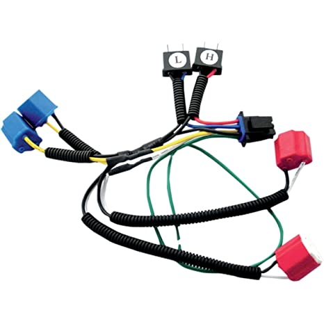 amazon com signal dynamics dual h7 wiring harness for plug and play rh amazon com Headlight Wiring Headlight Wiring Harness Repair Kits