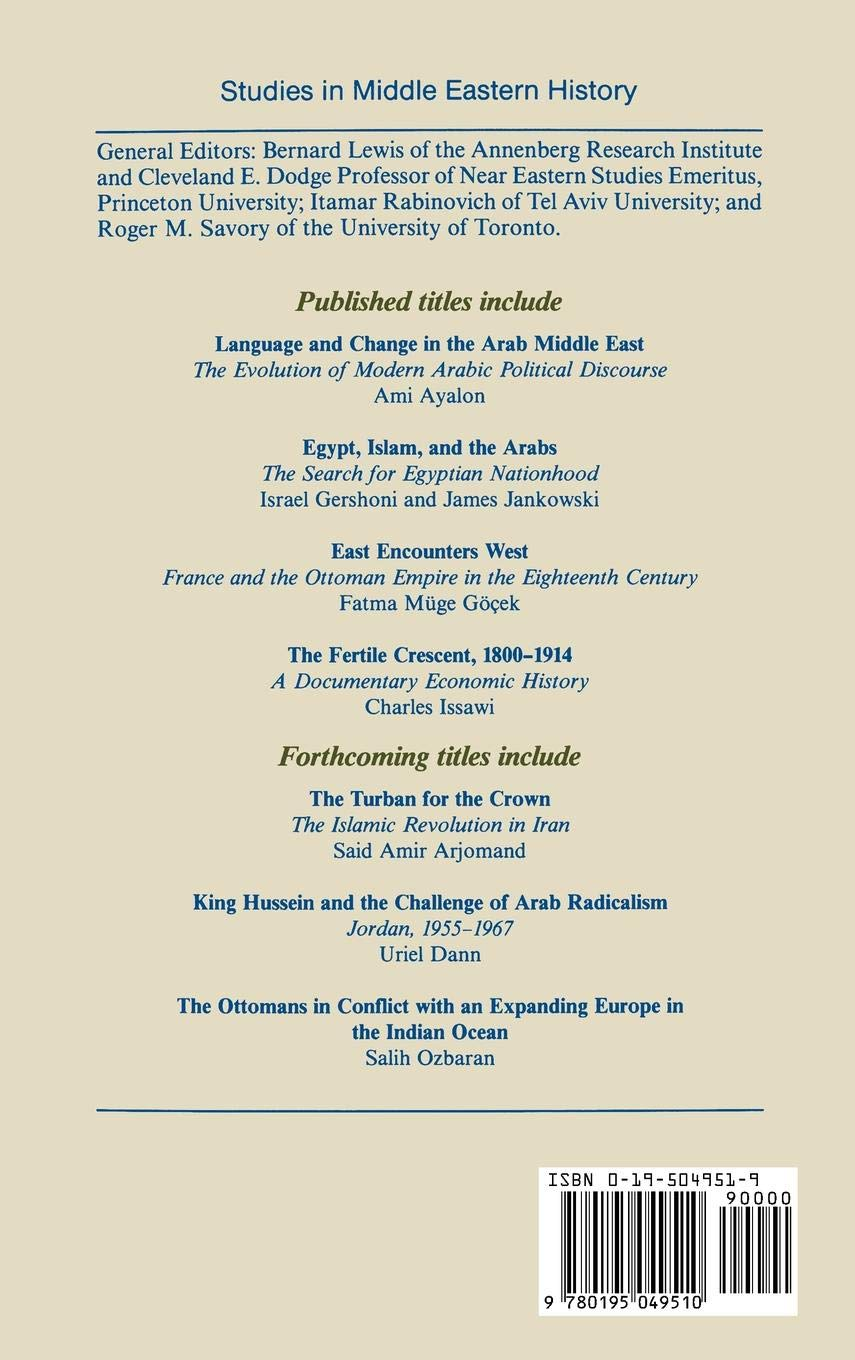 The Fertile Crescent, 1800-1914: A Documentary Economic History (Studies in Middle Eastern History)