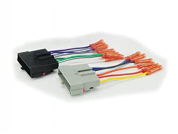 scosche radio wiring harness for 86+ fd pwr/spkr with butt connectors:  amazon ca: electronics