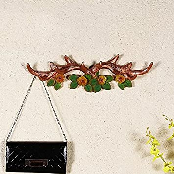 Vintage fundido ganchos de pared (10 ganchos), diseño de ...