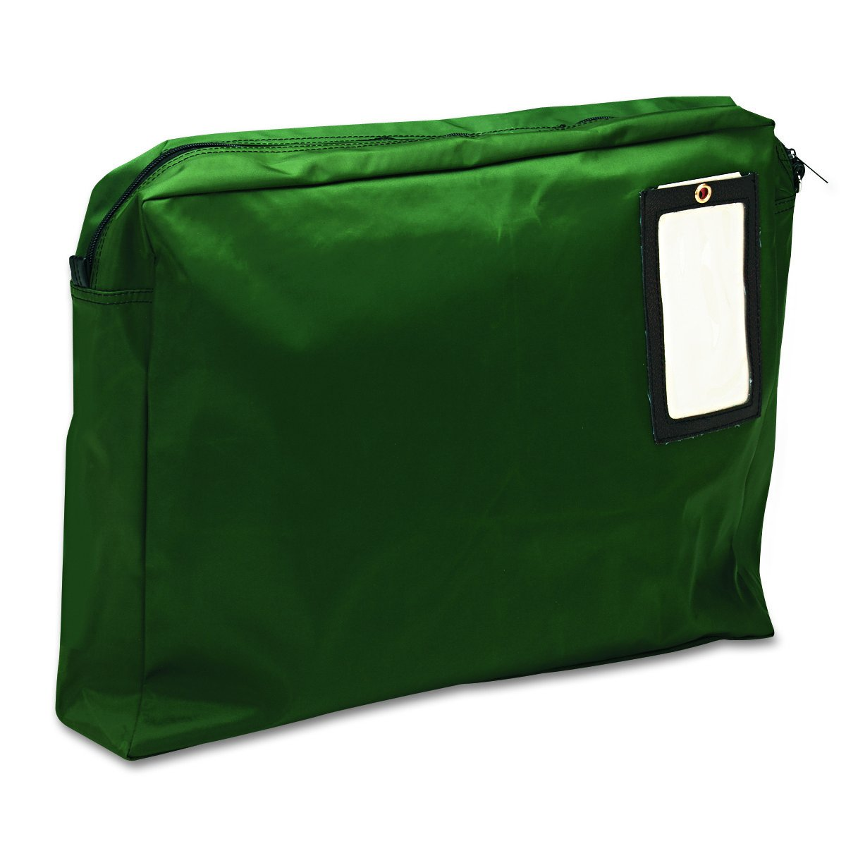 MMF Industries Expandable Nylon Transit Sac, 18 x 14 x 4 Inches, Hunter Green (2342814L02) by MMF Industries