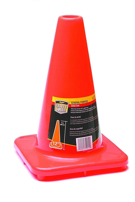 Honeywell 12'' Orange Traffic Cone (RWS-50010)