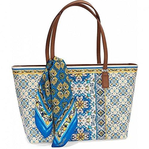 Brighton Scarf Zip Tote (Brighton Style Handbags)