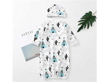 Niños Saco de dormir de impresión Cactus Sleesacks largos Sleepsacks Anti-kick ropa de dormir