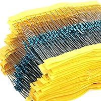 Kit de conjunto de resistores con 600 piezas