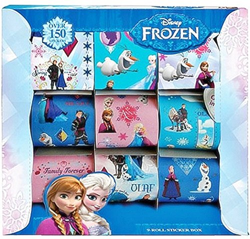Disney Frozen Roll Sticker Box