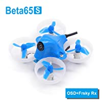 BETAFPV Beta65S BNF Micro Whoop Quadcopter mit FrSky Empfänger und OSD with 17500KV 7x16mm Motors