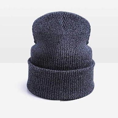 Moda Unisex Sombrero de Invierno cálido para Mujeres Skullies ...