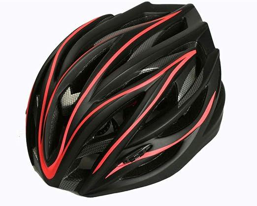 BBBB M/änner Mountainbiken Hochwertiger Sicherheitsfahrradhelm Coole Form M/änner Frauen Outdoor Sport Ultraleichter atmungsaktiver Fahrradhelm-A