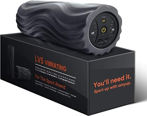 Myuilor 5-Speed Vibrating Foam Roller New Generation High Intensity Vibration