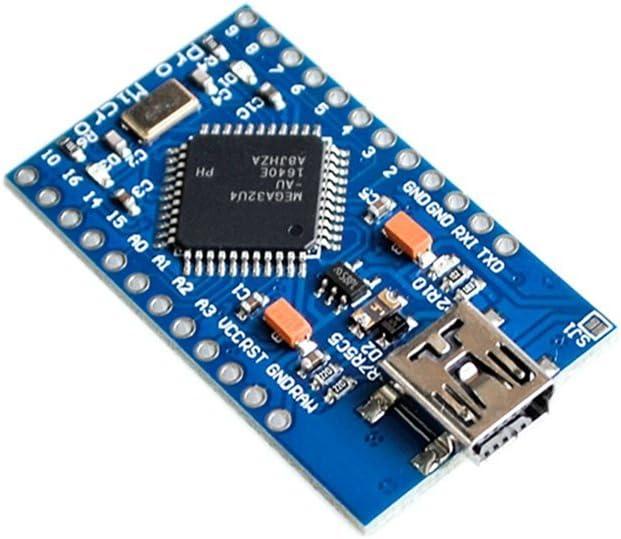 Mini USB ATmega32U4 Pro Micro 5V 16MHz Board Module For Arduino//Leonardo ATMega 32U4 Controller Pro-Micro Replace Pro Mini