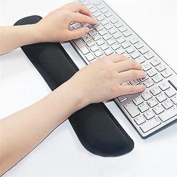 Almohadilla de gel para teclado y ratón ergonómico con ...