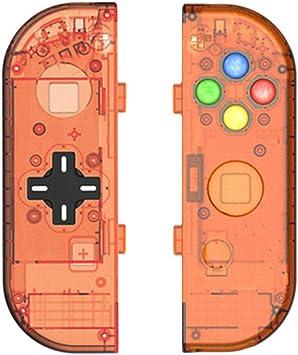 MYAMIA Manijas Carcasa Protectora Accesorios De Repuesto Protectores para Nintendo Switch Joy-con Controller-Naranja: Amazon.es: Hogar
