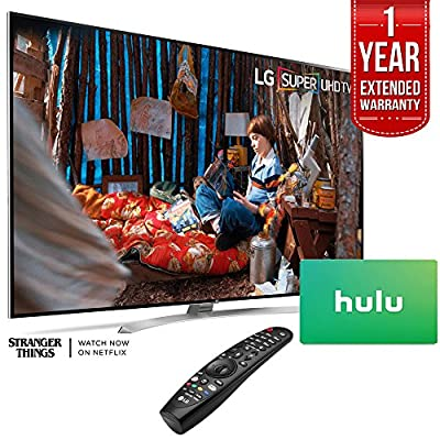 "LG Super UHD 86"" SJ9 4K Smart HDR LED TV Free $100 Hulu Gift Card Plus 1 Year Warranty Extension"
