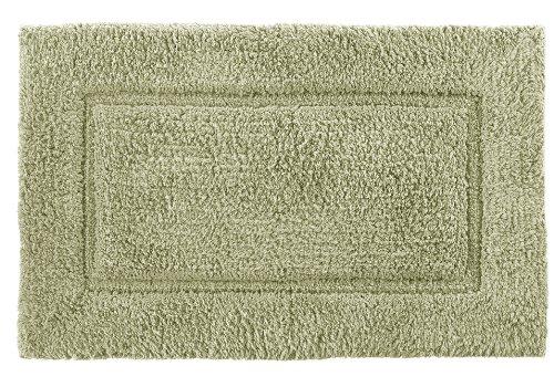 Kassatex ELR-244-TH Elegance Bath Rug, 24 by 40-Inch, Thyme ()