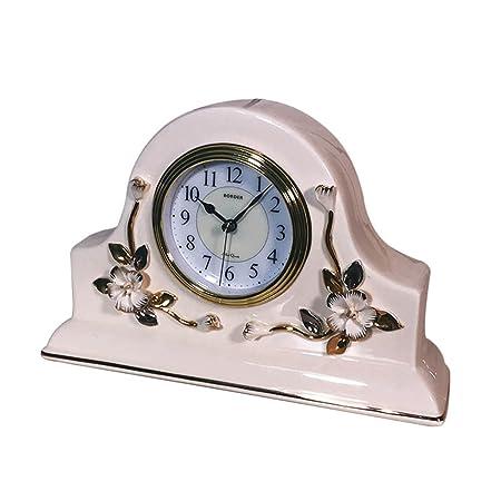 NNIU Reloj de Escritorio Retro, decoración de Reloj de Mesa de ...