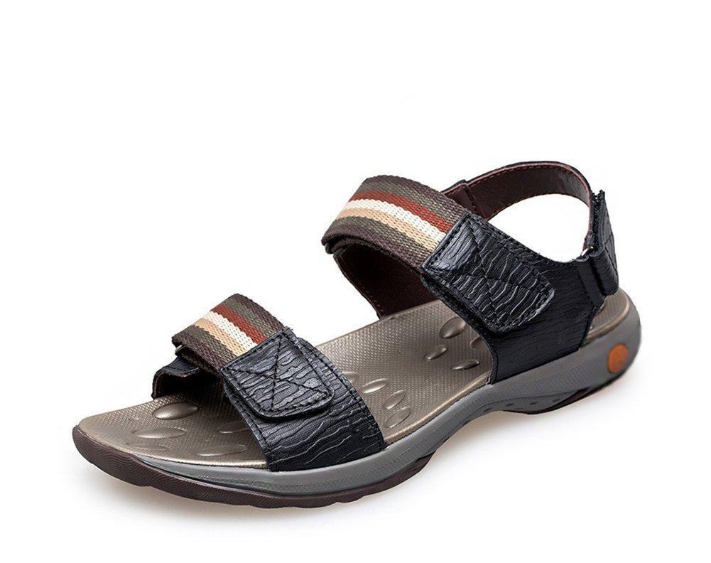 Sandalias De Verano para Hombre,Aire Suave Playa Zapatillas Sandalias Longitud del pie=24.8CM(9.8Inch)|B