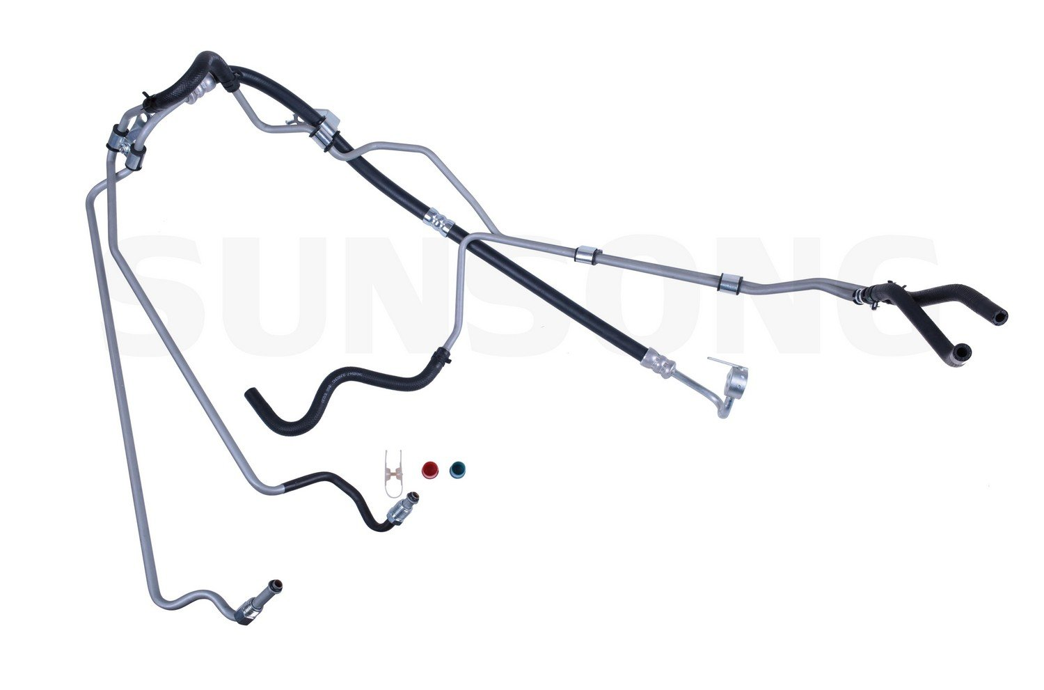 Sunsong 3401254 Power Steering Hose Assembly Toyota