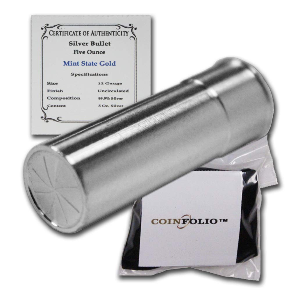 Image of Decorative Accessories Silver Bullet - 12 Gauge (5 oz) - Pure .999 Silver