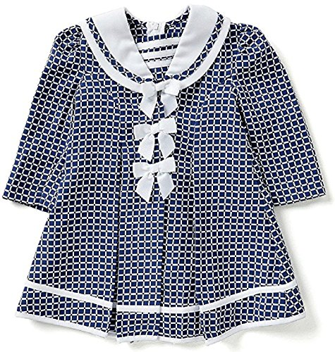 Buy navy dress and coat - 3