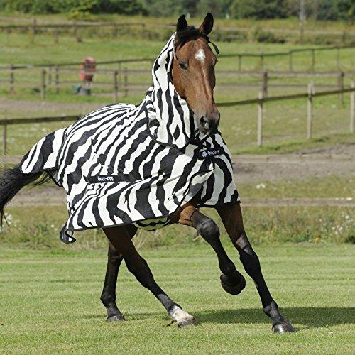 Bucas Buzz-Off Full Neck Zebra Size 170 218
