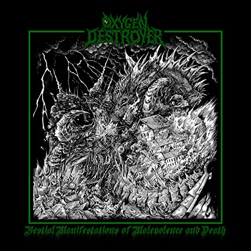 Oxygen Destroyer Bestial Manifestations Of Malevolence And Death (Cd)