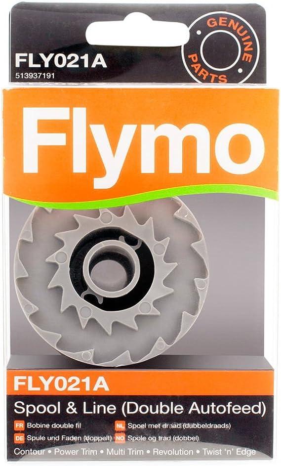 2 Line Spools Fits FLYMO Contour 700 Spool Cap Cover Power Trim Power Trim 700