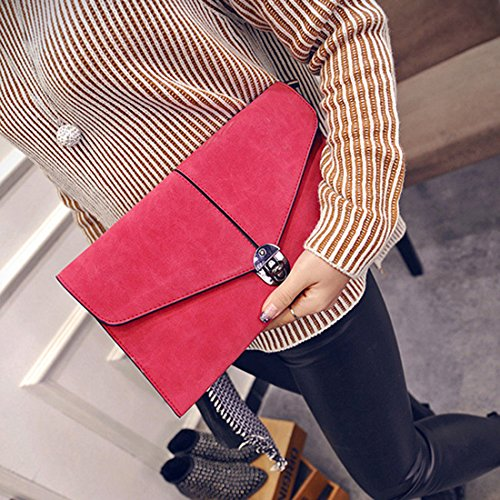 SSMK Evening Handbag - Cartera de mano para mujer cherry quartz