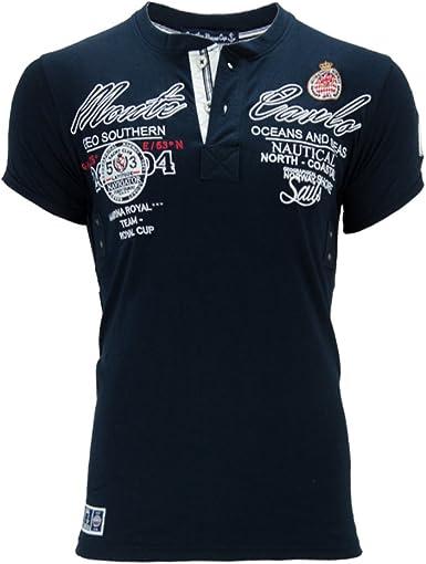 Geographical Norway - Camiseta - Cuello redondo - para hombre ...