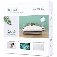 RECCI Cubrecolchón 90x190/200 - Cubre Colchón 90x190/200 Impermeable