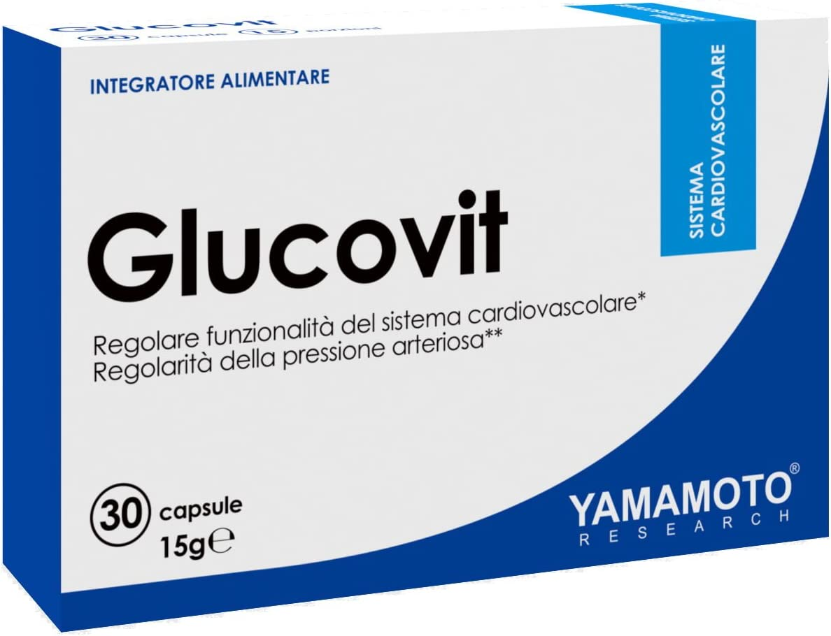 Yamamoto Research Glucovit Suplemento Dietético - 30 Cápsulas