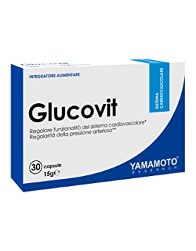 Yamamoto Research Glucovit Suplemento Dietético - 30 Cápsulas: Amazon.es: Salud y cuidado personal