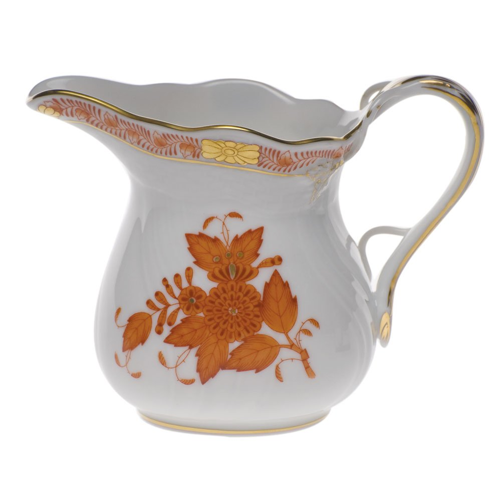 Herend Chinese Bouquet Rust Creamer
