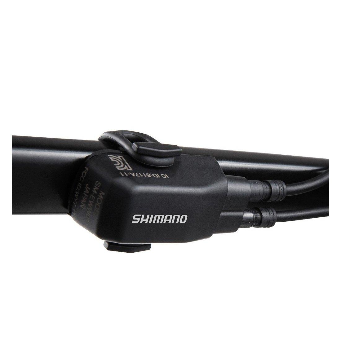 SHIMANO D-Fly Di2 2Xetube T Transmisor, Unisex Adulto, Azul, Talla Ú nica Talla Única EWWU101
