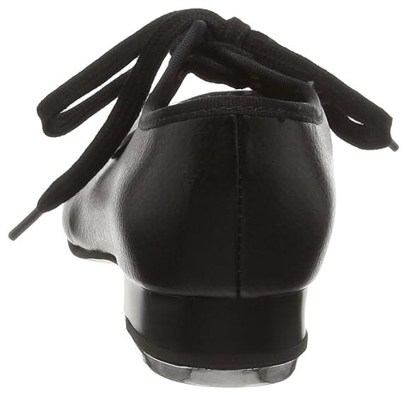 Bloch Timestep - Zapatos de Tap para Niñas, Negro (Black), 25 EU