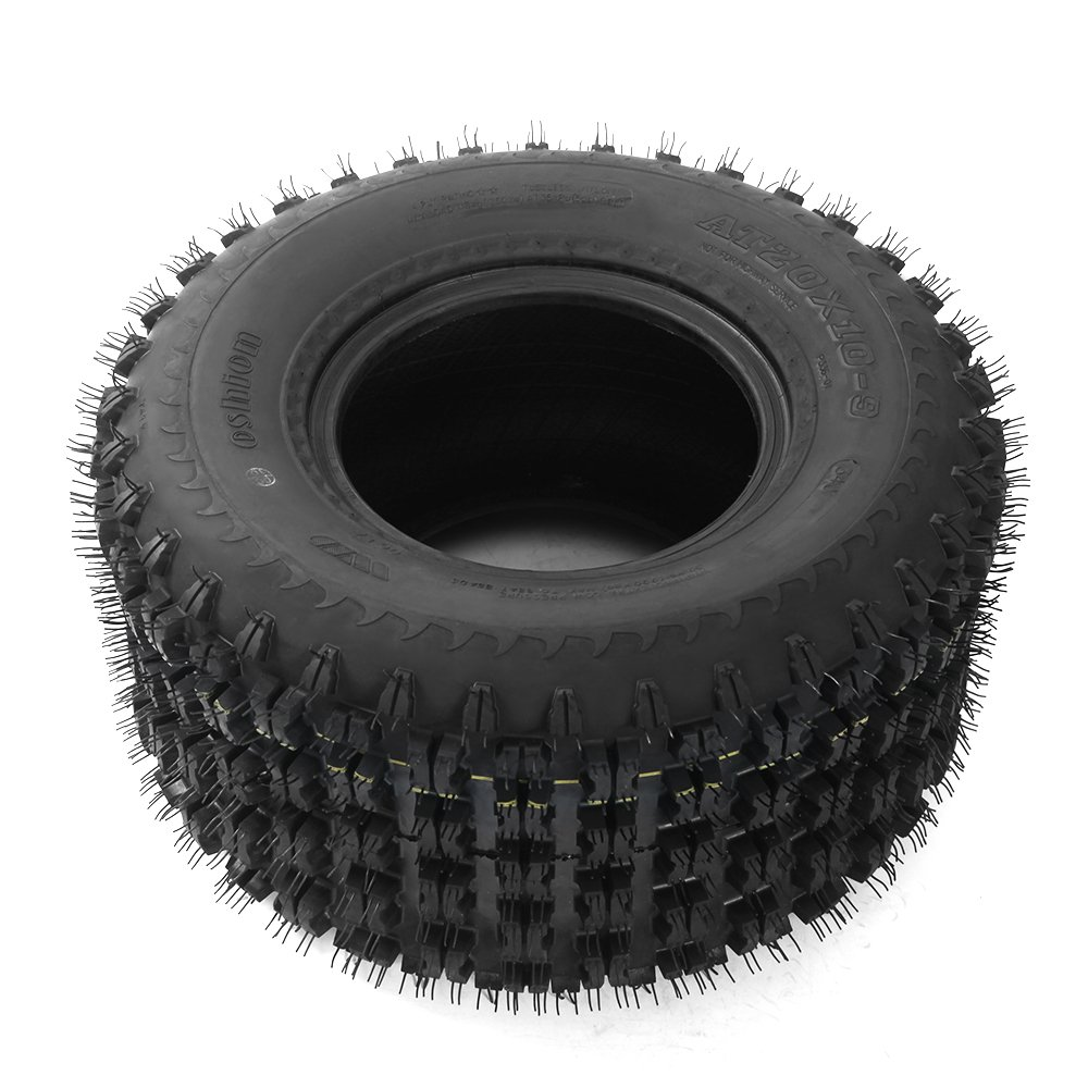 Set of 2 ATV Tire P336 20x10-9 Rear, 4 Ply by Bestroad (Image #6)