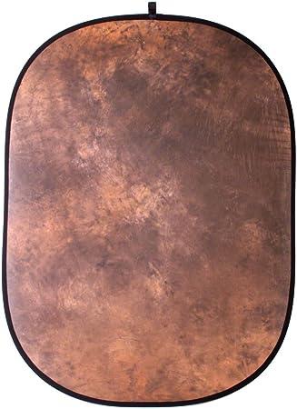 Walimex Falthintergrund Braun Batik Kamera