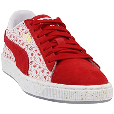 2860f164d PUMA Women's Suede Classic x Hello Kitty Bright Red/Bright Red 6.5 B US B