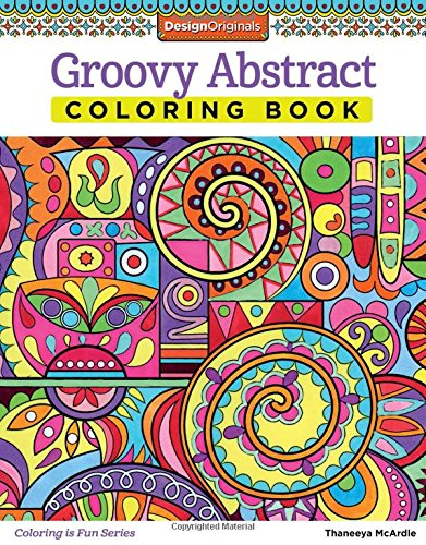 Groovy Abstract Coloring Design Originals product image